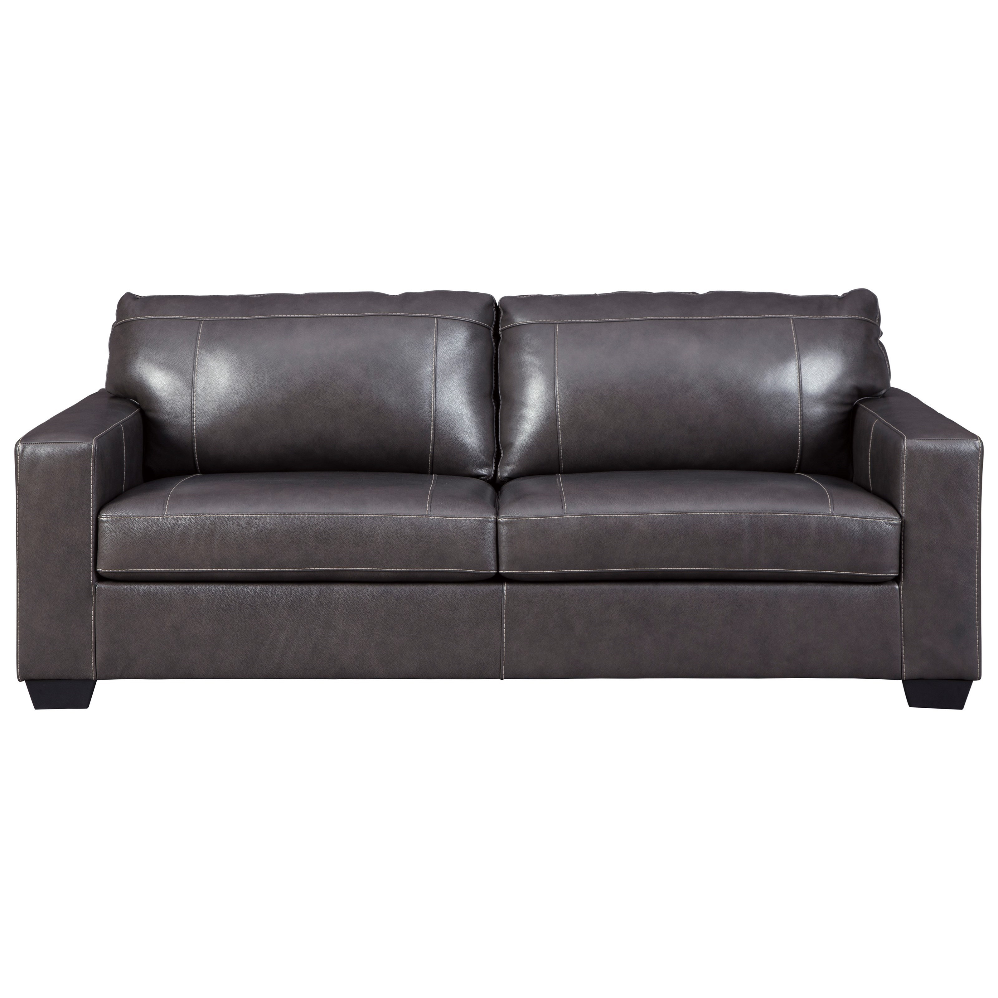 - Signature Design By Ashley Morelos Contemporary Leather Match