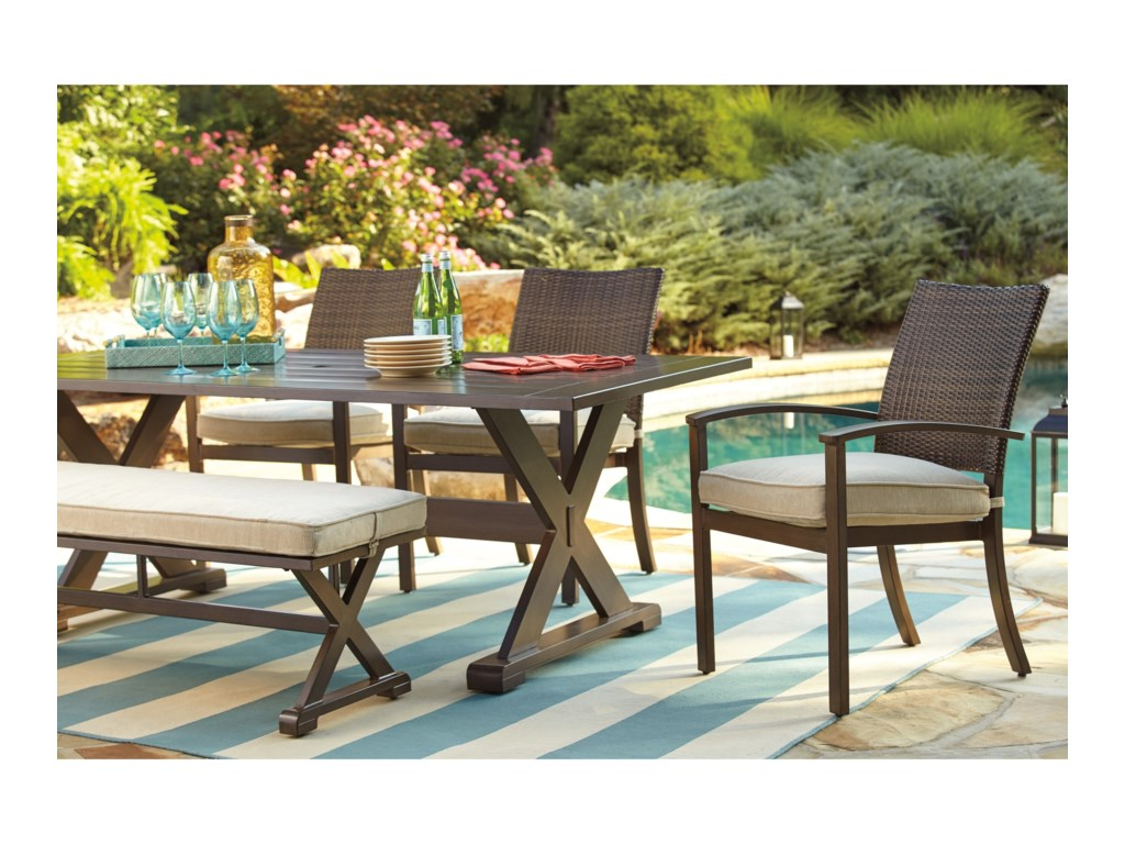 Signature Design by Ashley MoresdaleOutdoor Rectangular Dining Table