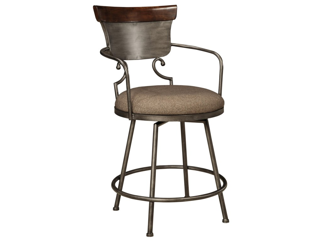 Signature Design by Ashley MoriannUpholstered Barstool