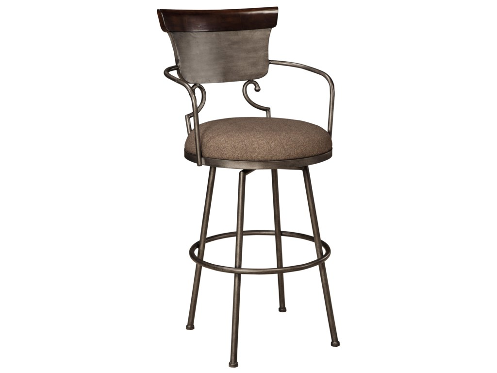 Signature Design by Ashley MoriannTall Upholstered Barstool