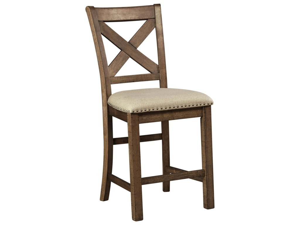 Ashley Signature Design MorivilleUpholstered Barstool