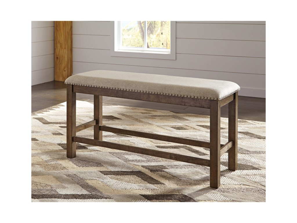 Signature Design by Ashley Moriville6-Piece Rectangular Counter Table w/ Bench