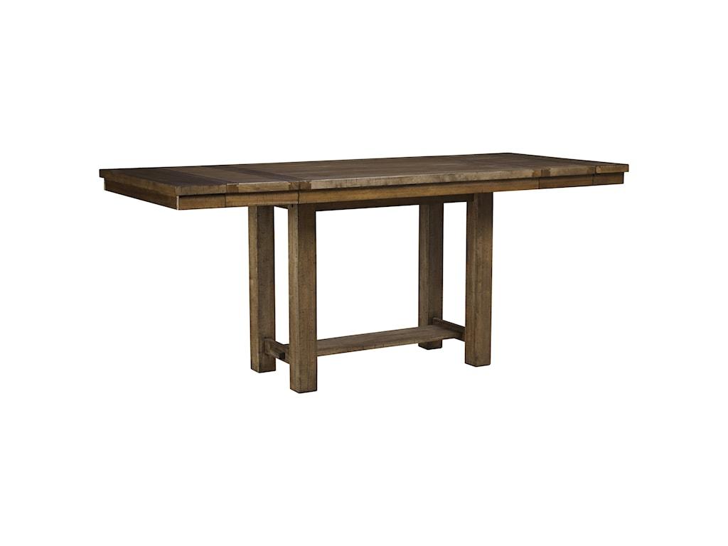Trendz Morgan5-Piece Rectangular Extension Table Set