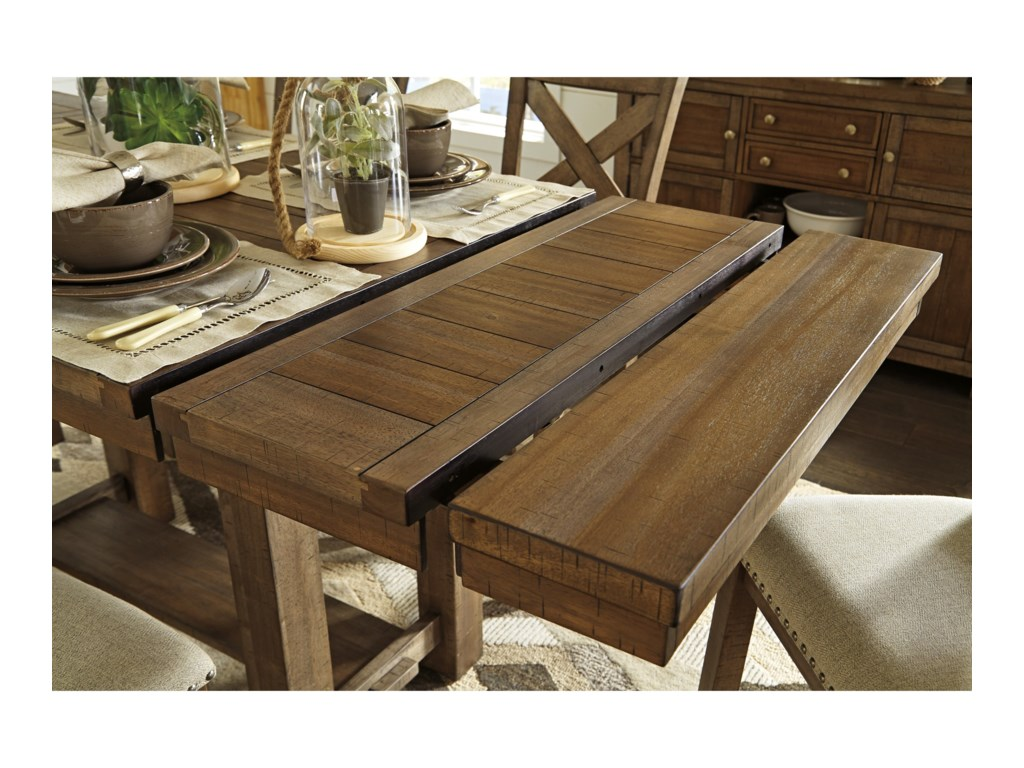 Signature Design by Ashley Moriville7-Piece Rectangular Ext Counter Table Set