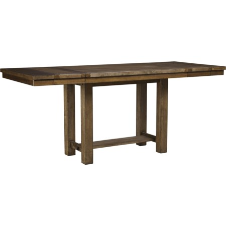 Rect. Dining Room Counter Extension Table
