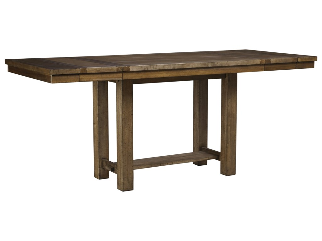 Signature Design by Ashley MorivilleRect. Dining Room Counter Extension Table