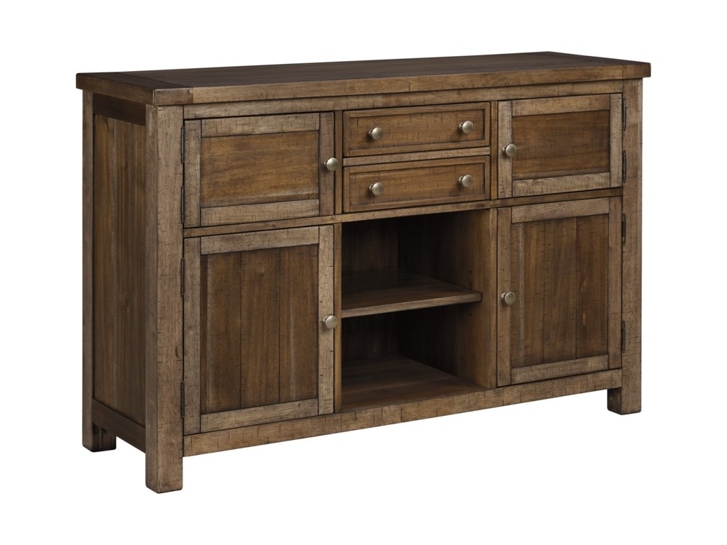 Signature Design by Ashley Moriville D631-60 Dining Room Server with ...