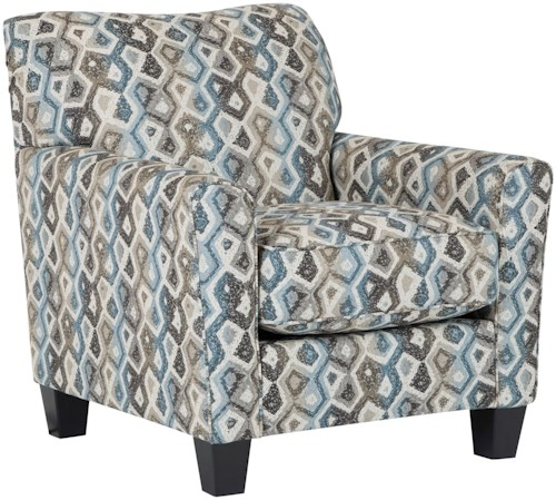 Signature Design by Ashley Nalini Contemporary Accent Chair