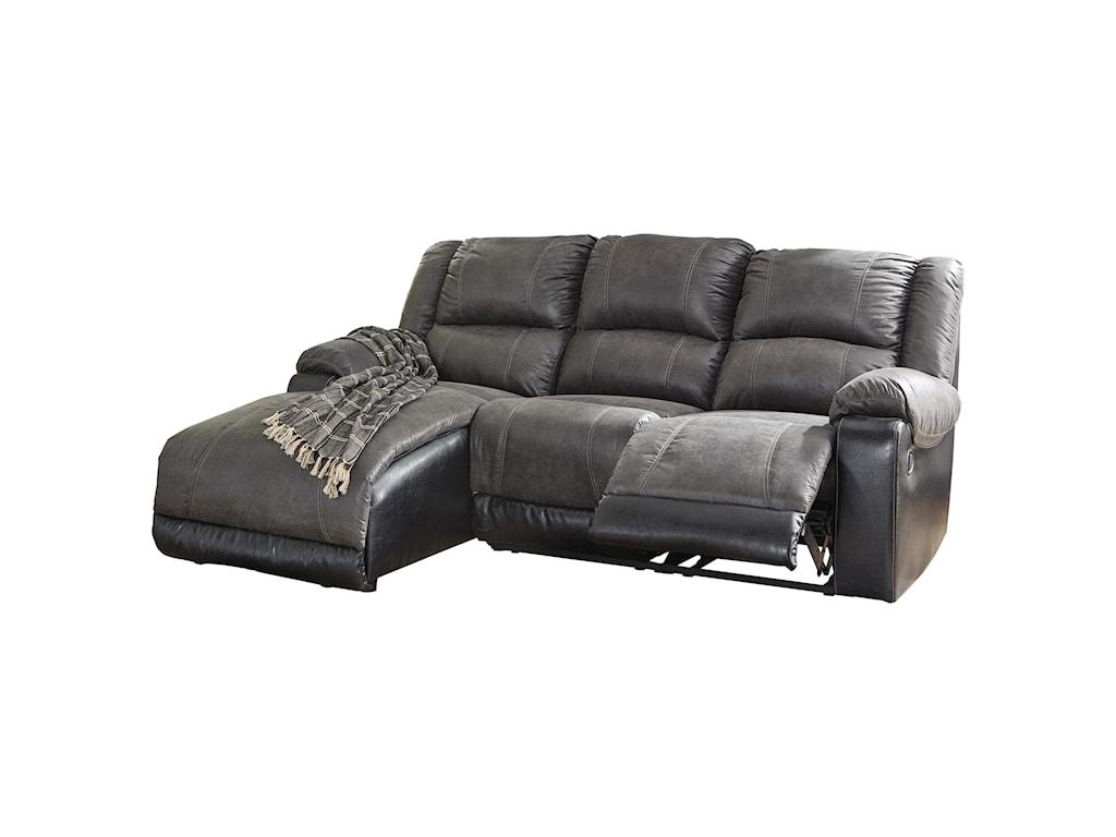 Signature Design by Ashley NantahalaReclining Sofa with Chaise