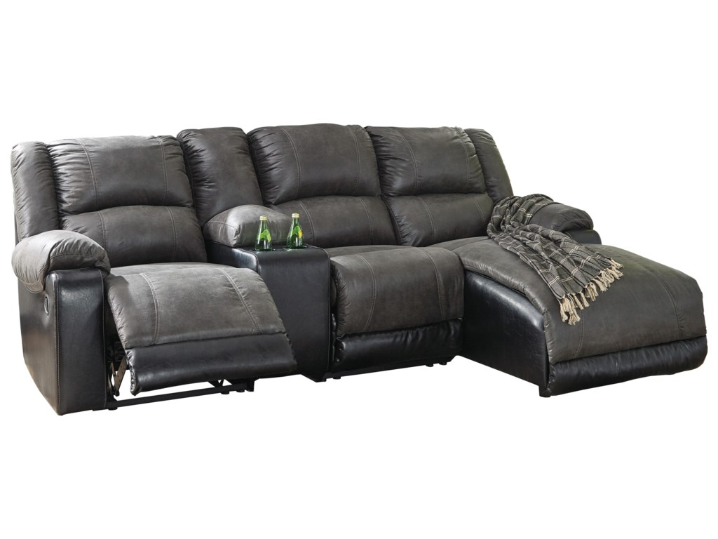 Signature Design by Ashley NantahalaReclining Chaise Sofa