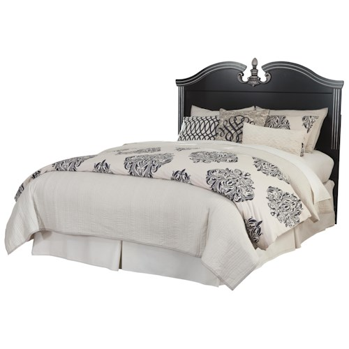 Signature Design by Ashley Navoni Traditional Queen/Full Panel Headboard with Bonnet Top