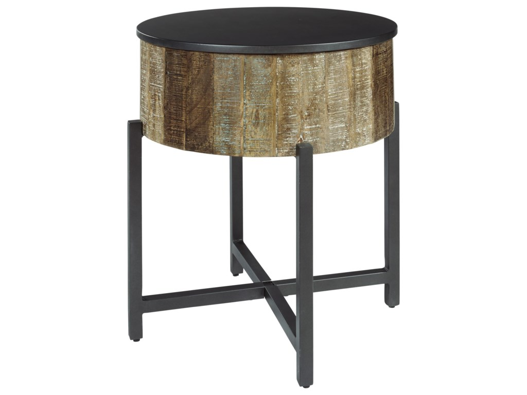 Signature Design by Ashley NashbrynCocktail Table and 2 End Tables Set