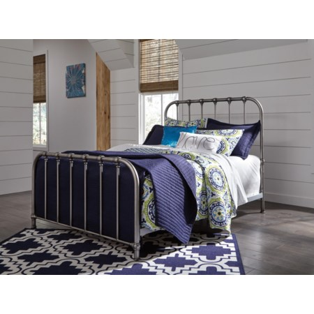 Nashbury Queen Metal Bed