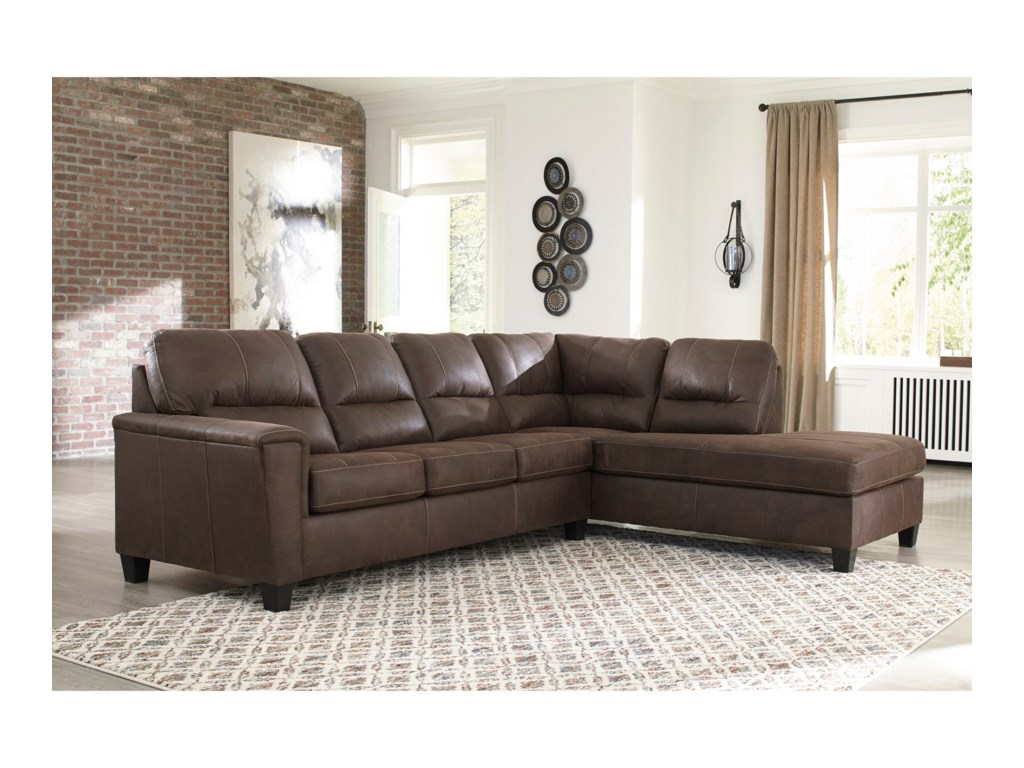 Signature Design by Ashley Navi2-Piece Sectional with Right Chaise