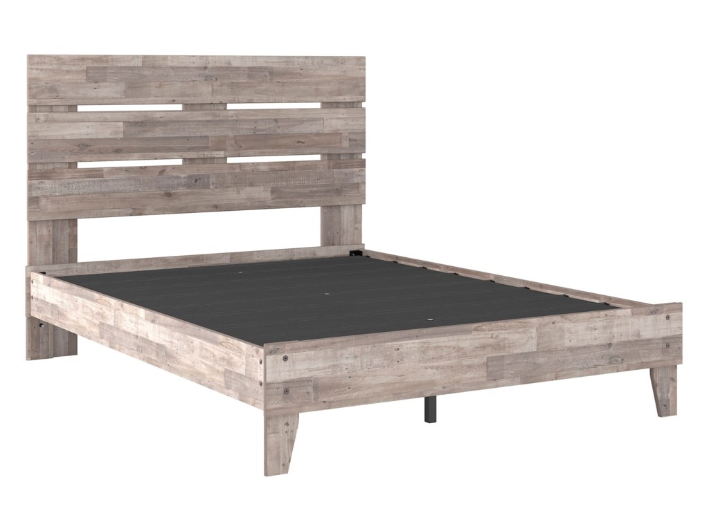 Signature Design by Ashley NeilsvilleQueen Platform Bed with Headboard