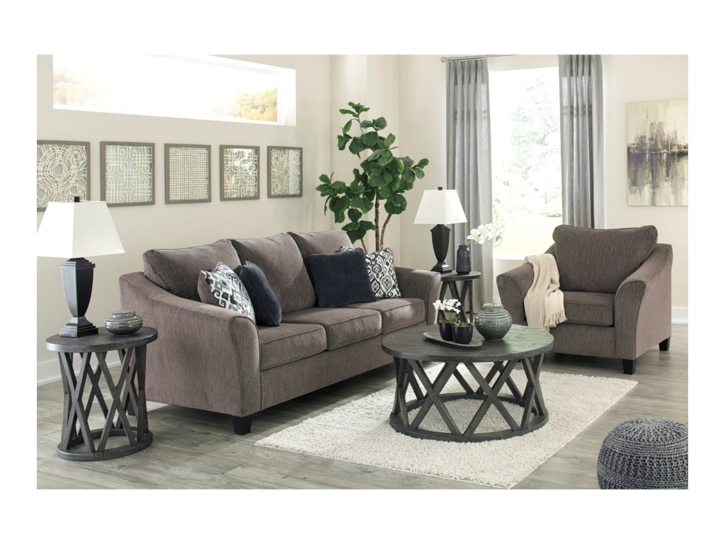 Signature Design by Ashley NemoliStationary Living Room Group