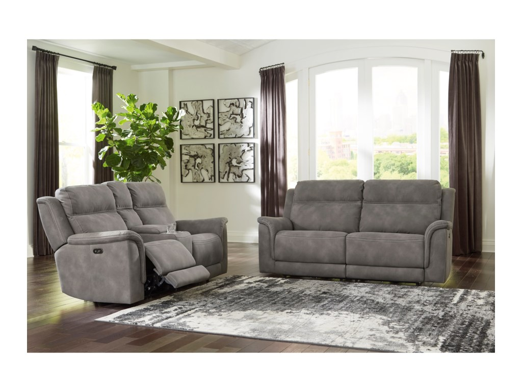 Signature Design by Ashley Next-Gen DuraPellaPower Reclining Living Room Group
