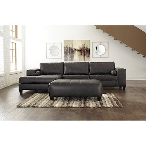 Signature Design by Ashley Nokomis Stationary Living Room Group