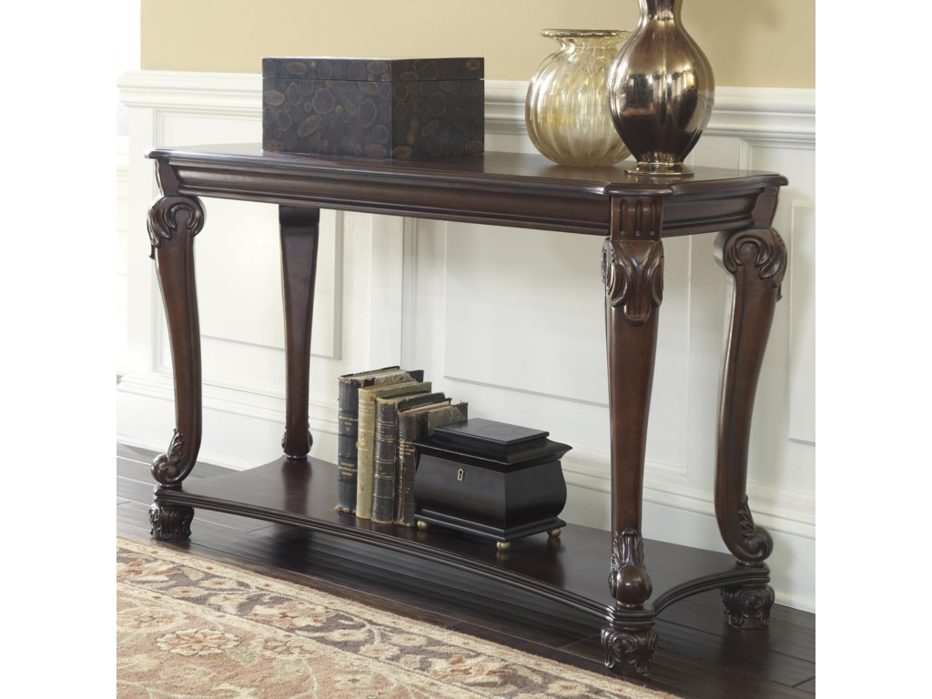 Signature Design By Ashley Norcastlesofa Console Table