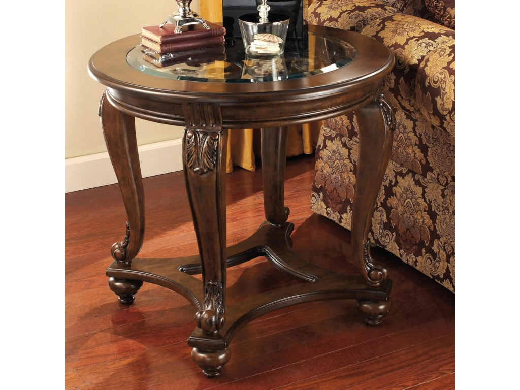 Signature Design by Ashley NorcastleRound End Table