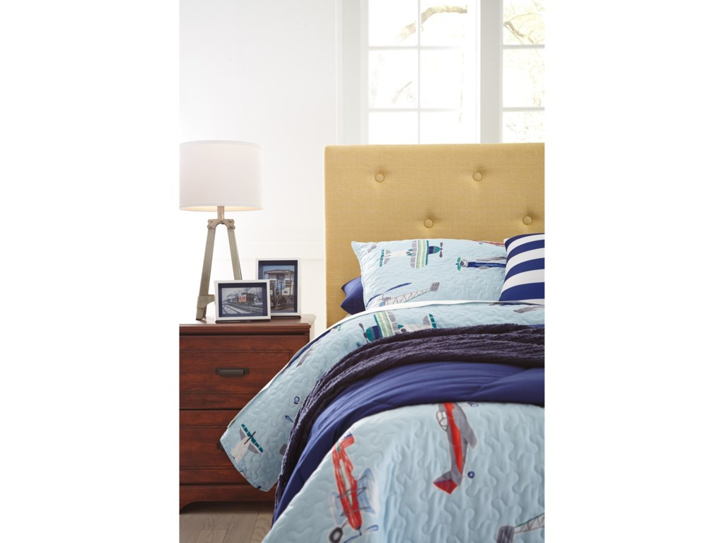 Signature Design by Ashley NuvellaFull Upholstered Headboard