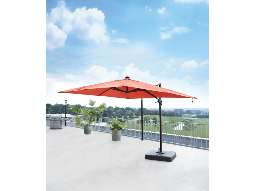 Signature Design by Ashley OakengroveCoral Large Cantilever Umbrella