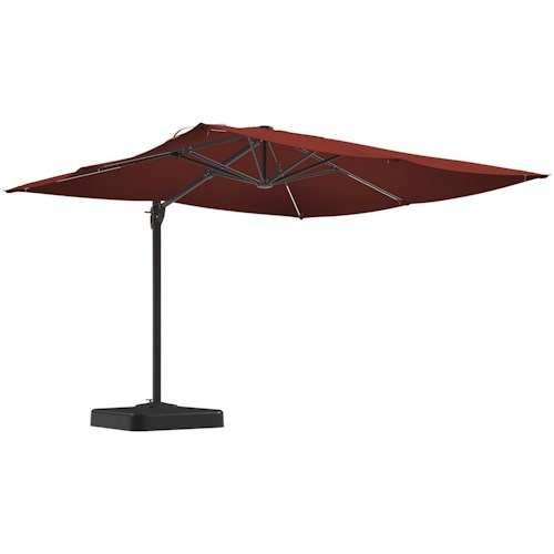 Signature Design by Ashley Oakengrove Burnt Orange Large Cantilever Umbrella