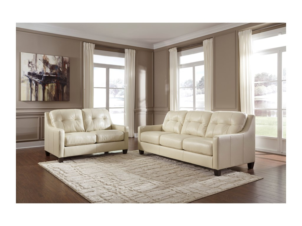 Signature Design by Ashley O\'Kean Stationary Living Room Group ...