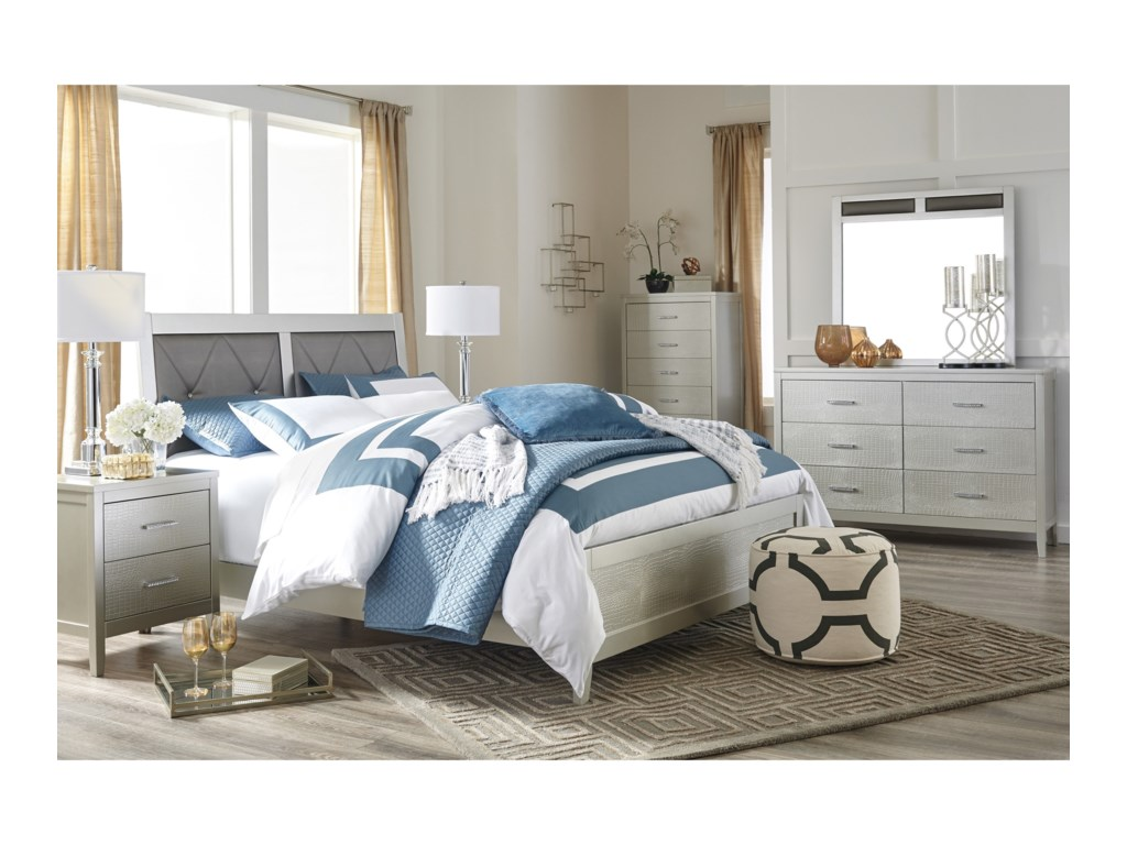 Signature Design by Ashley OlivetKing Bedroom Group