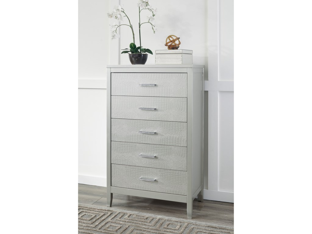 Signature Design by Ashley OlivetFive Drawer Chest
