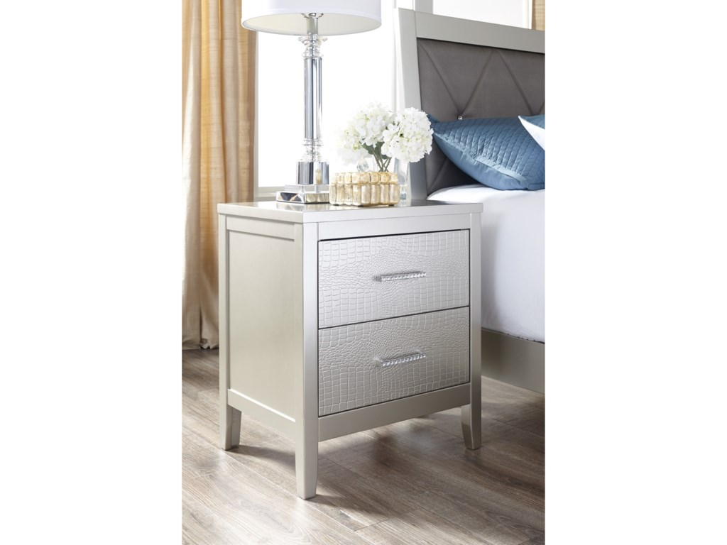 Signature Design by Ashley Olivet2-Drawer Nightstand