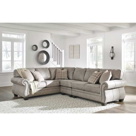 3 Piece L-Shaped Sectional