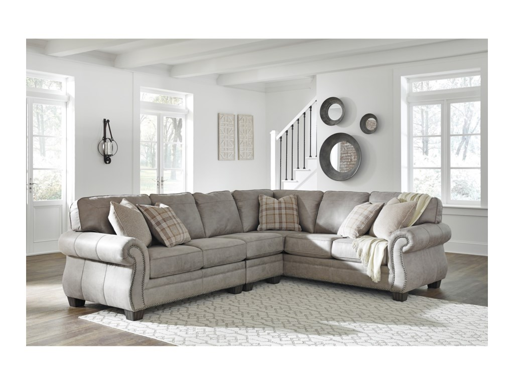 Signature Design by Ashley Olsberg3 Piece L-Shaped Sectional
