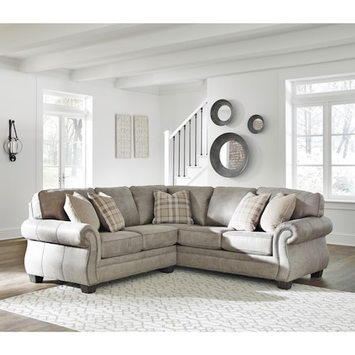 Signature Design By Ashley Olsberg 2 Piece Sectional
