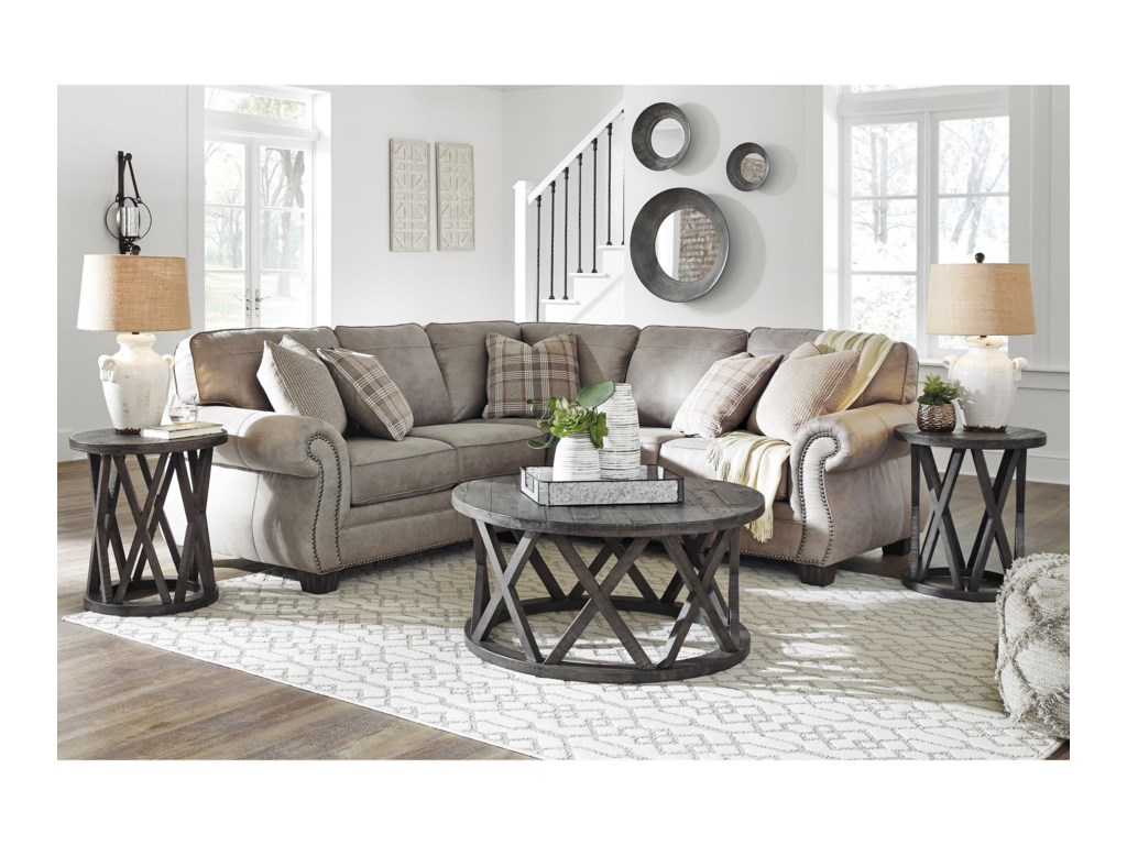 Signature Design by Ashley Olsberg2 Piece Sectional