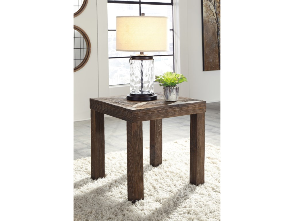 Signature Design by Ashley OssereeneSquare End Table