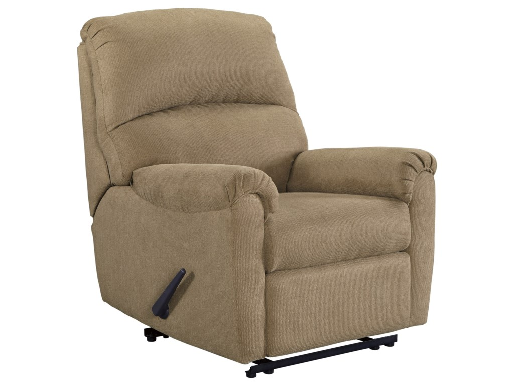 Signature Design By Ashley Otwell Zero Wall Recliner Royal