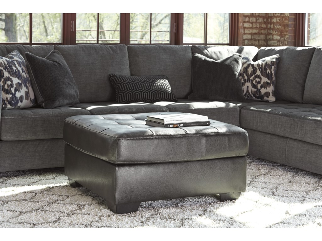 Signature Design by Ashley Owensbe AccentOversized Accent Ottoman