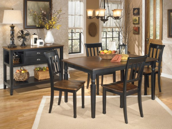 Ashley Signature Design Owingsville Casual Dining Room Group  Mankato Austin New Ulm Southern