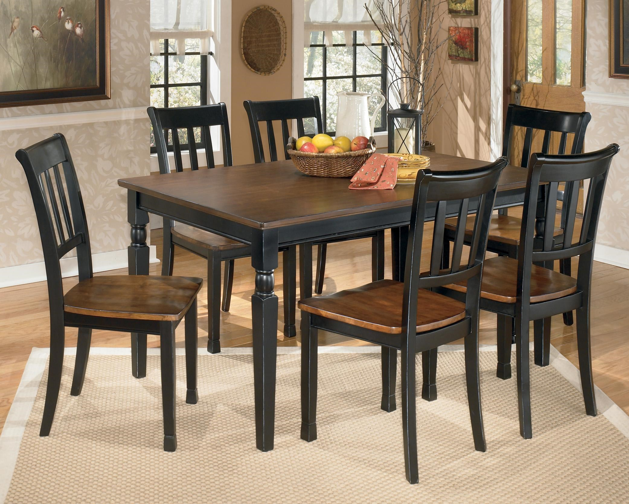 Signature Design by Ashley Owingsville -Piece Rectangular Dining