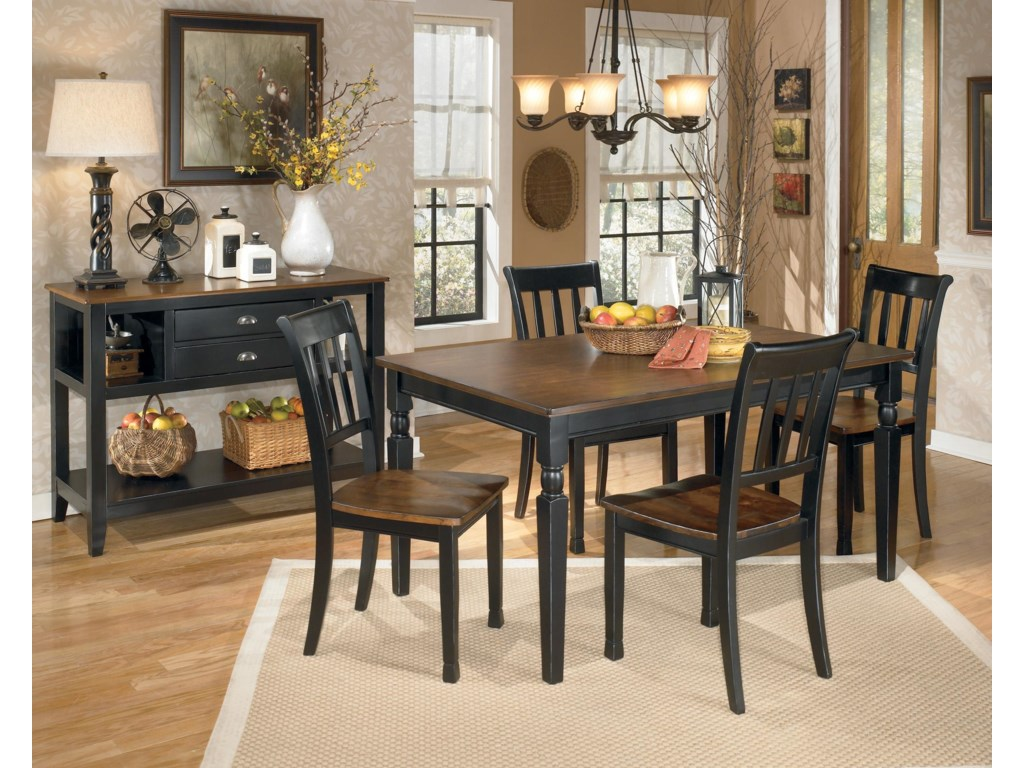 Signature Design by Ashley OwingsvilleRectangular Dining Room Table
