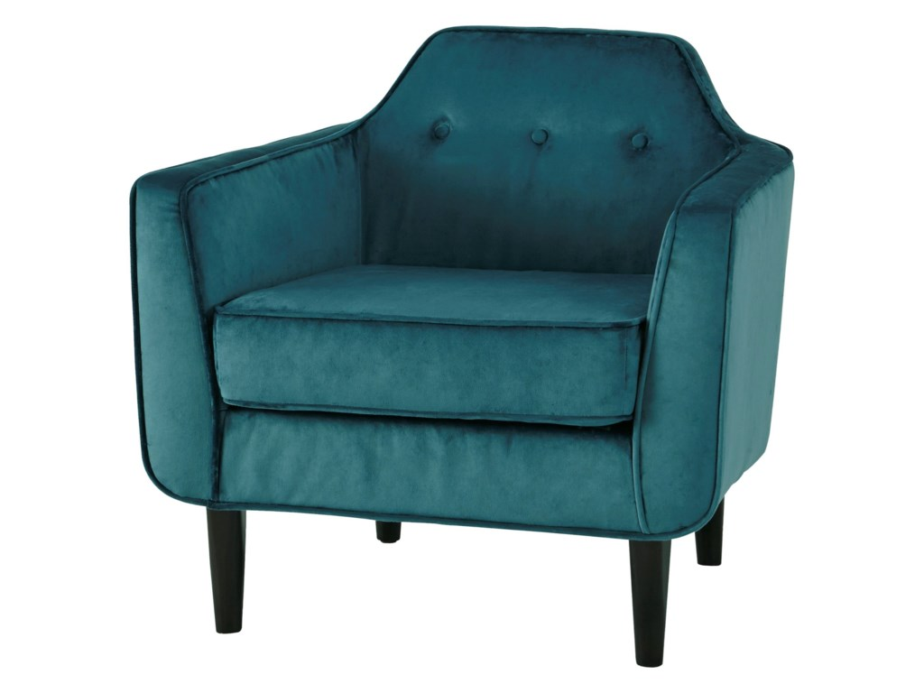 Signature Design By Ashley Oxette Mid Century Modern Accent Chair