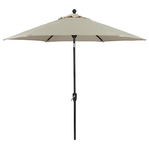 Signature Design by Ashley Umbrella Accessories Medium Auto Tilt Umbrella