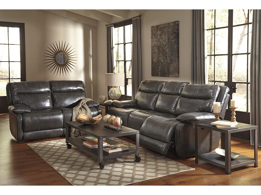 Signature Design by Ashley PalladumReclining Power Sofa