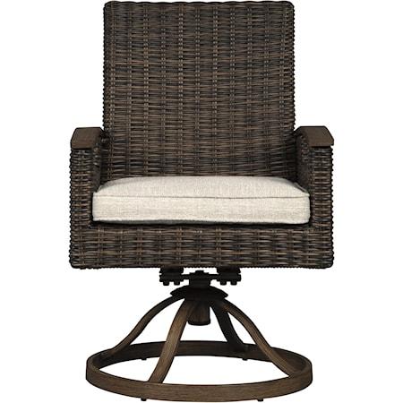 Swivel Chair with Cushion