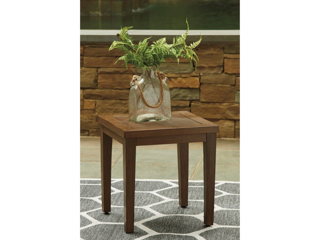 Signature Design by Ashley Paradise TrailSquare End Table