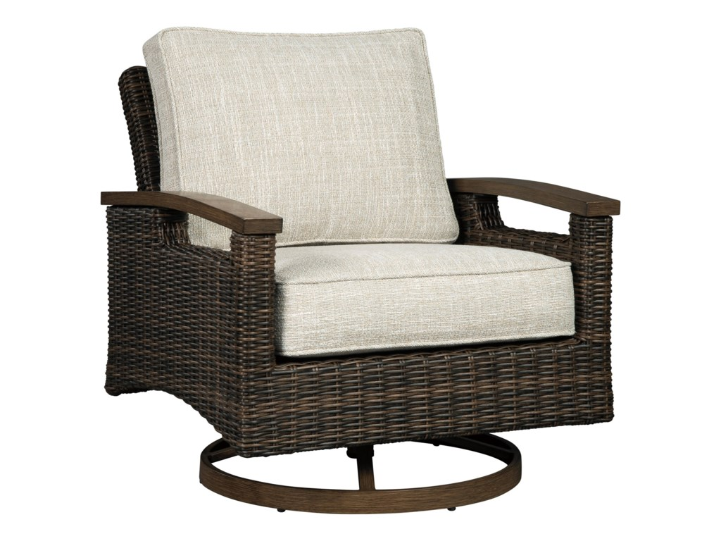 Signature Design by Ashley Paradise TrailSwivel Lounge Chair