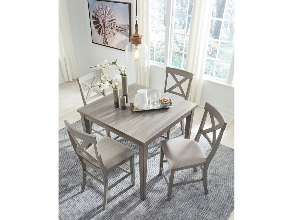Signature Design by Ashley Parellen5-Piece Counter Table and Chair Set