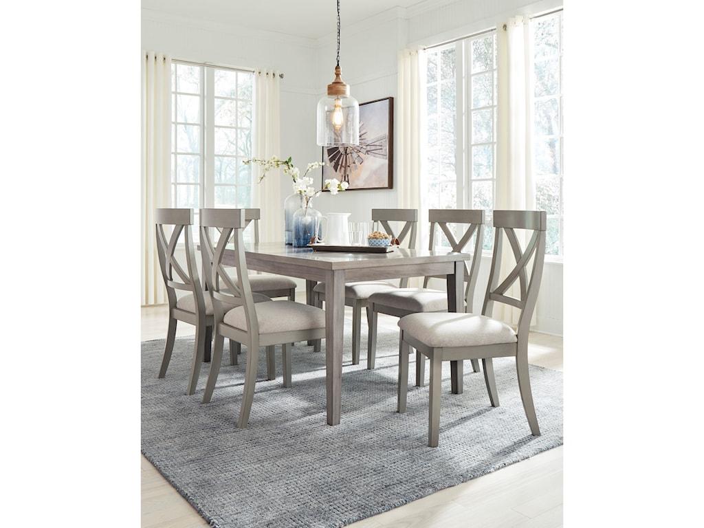 Signature Design by Ashley ParellenRectangular Dining Room Table