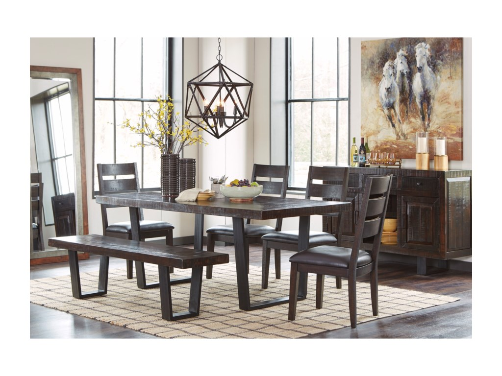 Signature Design by Ashley Parlone Modern Rustic Dining Room ...